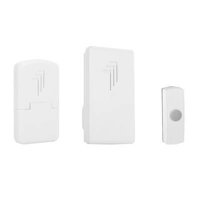Byron DB312 Portable Wireless Door Chime Kit 30m