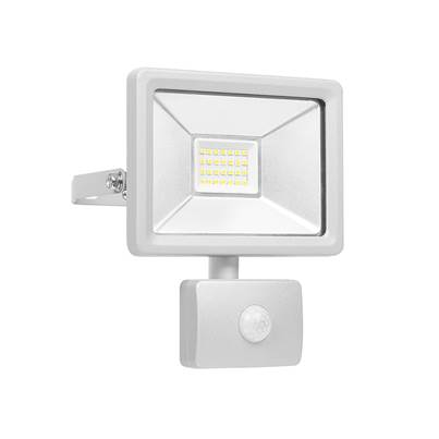 Byron Ultra Slim Integrated LED Floodlight With Sensor