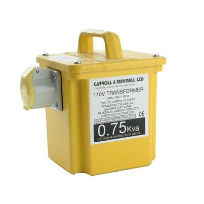 Carroll & Meynell Transformer Twin Outlet