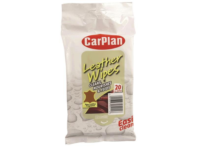 Leather Wipes (Pouch of 20)