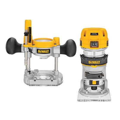 DEWALT D26204K Plunge & Fixed Base Router