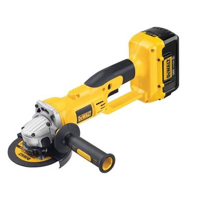 DEWALT DC415M2 125mm Grinder & Kit Box 36 Volt 2 x 4.0Ah Li-Ion
