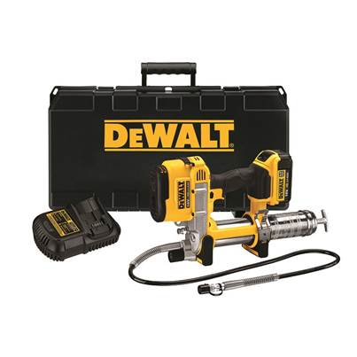 DEWALT DCGG571M1 Cordless XR Grease Gun 18V 1 x 4.0Ah Li-Ion