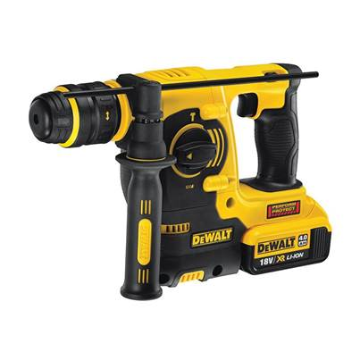 DEWALT DCH254 M2 SDS Plus 3 Mode Hammer Quick Change Chuck 18V 2 x 4.0Ah Li-Ion