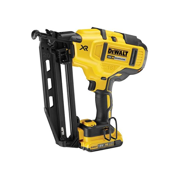 DeWalt DCN660D2-GB 18V Brushless 2ND Fix Nailer 2X2.0AH