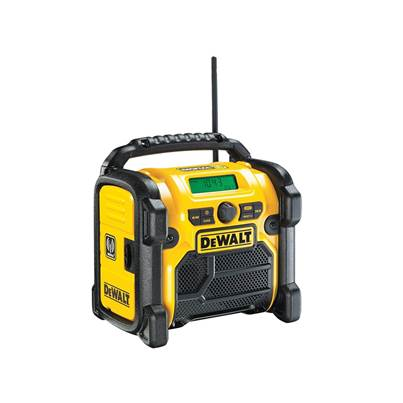 DEWALT DCR020 DAB Digital Radio 240V & Li-ion Bare Unit