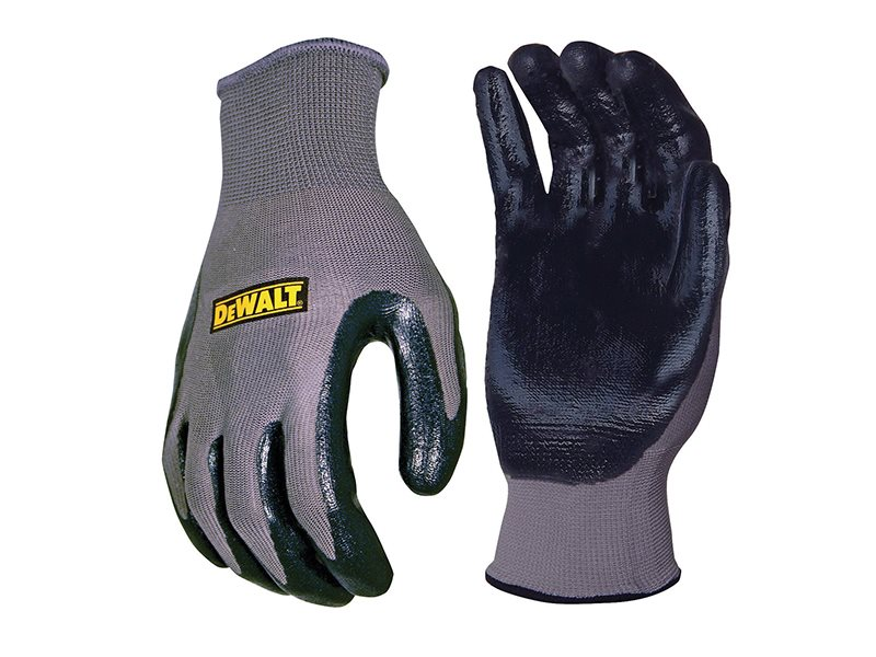 DPG66 Nitrile Nylon Gloves - Large
