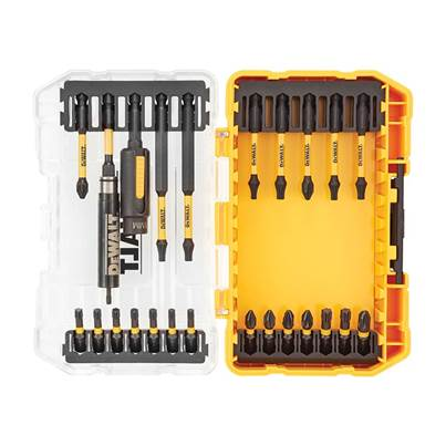 DEWALT DT70744T FLEXTORQ™ Screwdriving Set, 25 Piece