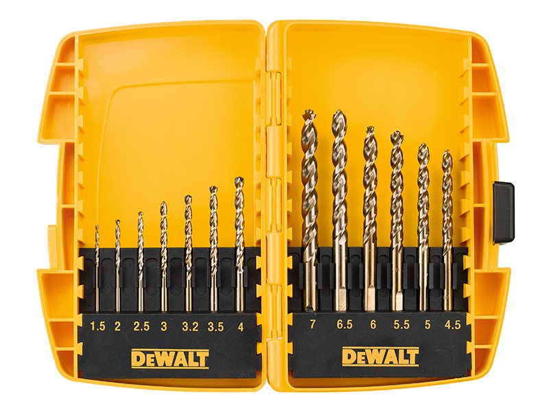 DT7920BQZ Small Tough Case Metal Drill Set 13 Piece