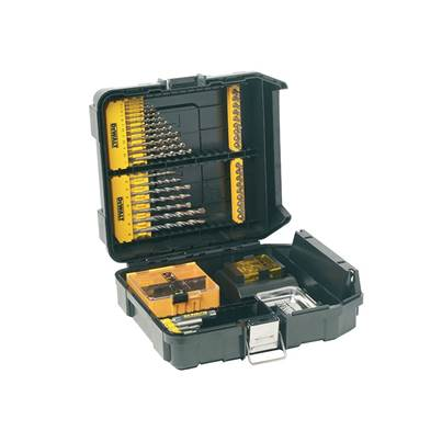 DEWALT DT9281 Mini MAC Masonry & Metal Drilling Kit Set 63 Piece