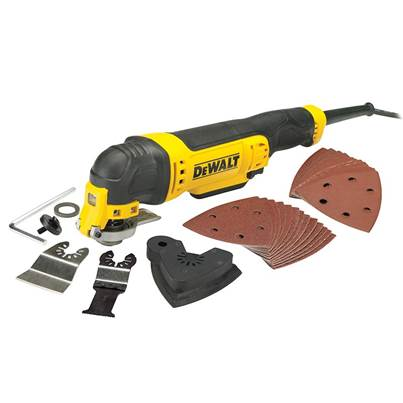 DEWALT DWE315B Corded Multi-Tool with Bag 300W 240V