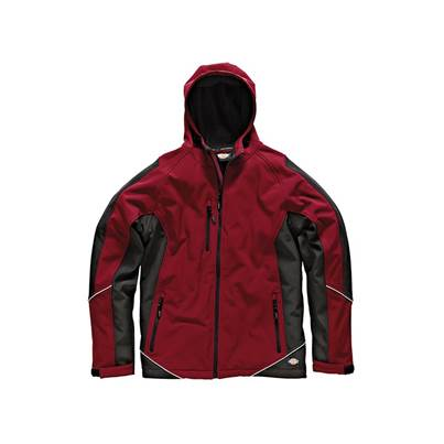 Dickies Two Tone Softshell Red/Black Jacket