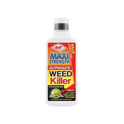 DOFF Maxi Strength Glyphosate Weed Killer 250ml