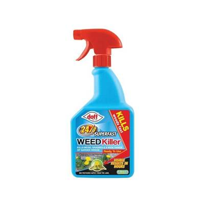 DOFF 24/7 Super Fast Acting Weed Killer RTU 1 Litre