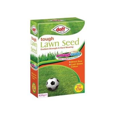 DOFF Tough Magicoat Grass Seed 420g
