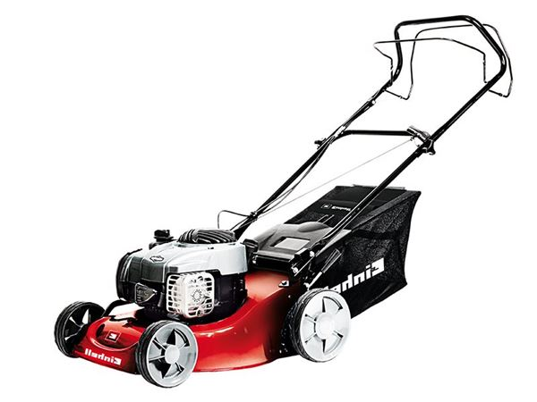 Einhell GC-PM 46/1 S B&S Self Propelled Lawnmower Petrol 46cm 125cc 4 Stroke