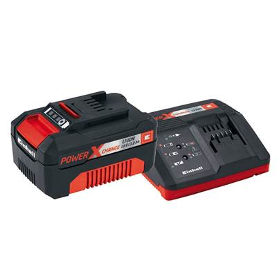 Einhell Power X-Change Battery & Charger Starter Kit 18V 1 x 3.0Ah Li-ion