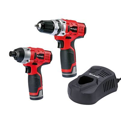TC CD/CI Cordless Twin Pack 12V 2 x 1.5Ah Li-ion