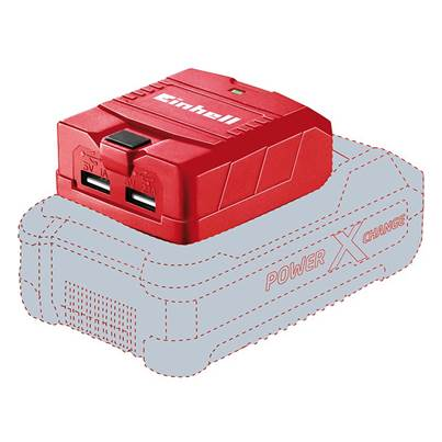 Einhell TE-CP 18 Li USB-Solo Power X-Change Battery Adaptor 18V Li-ion