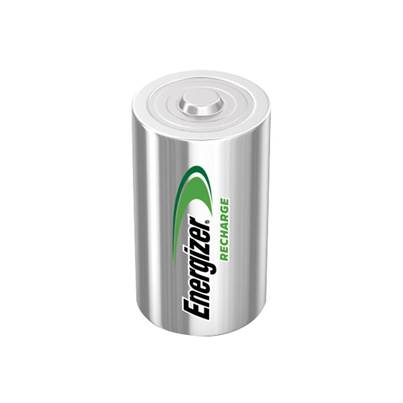 Energizer C Cell Rechargeable Power Plus Batteries RC2500 mAh Pack of 2