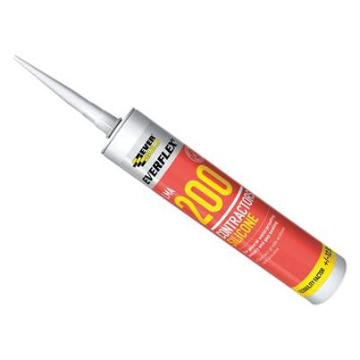 Everbuild 200 Contractors LMA Silicone Sealant