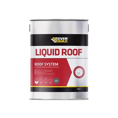 Everbuild Aquaseal Liquid Roof, Slate Grey 7kg