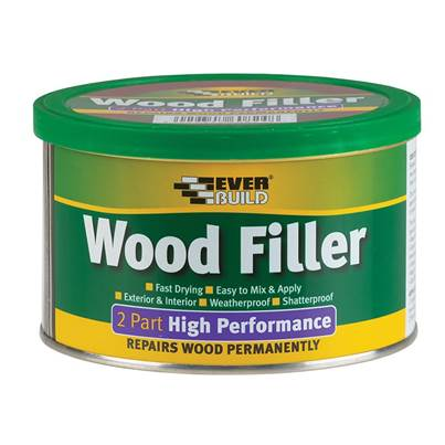 Everbuild Wood Filler, 2-Part High Performance