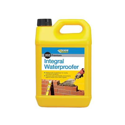 Everbuild Integral Liquid Waterproofer 5 Litre