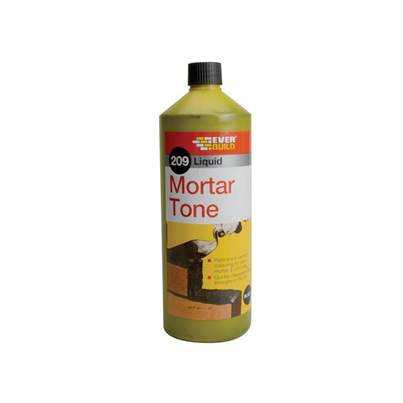 Everbuild Liquid 209 Mortar Tone Black 1 litre