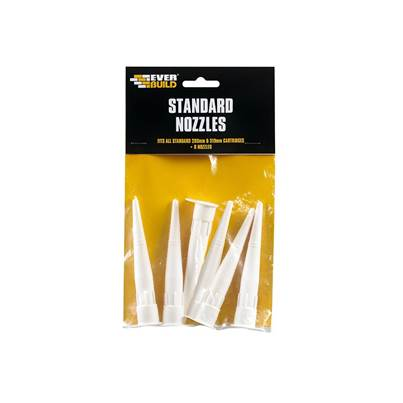 Everbuild Standard Nozzle Pack of 6