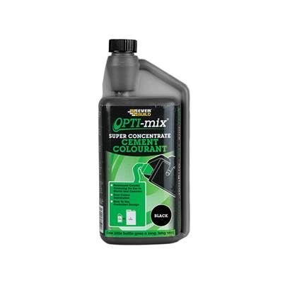 Everbuild Opti-Mix Cement Colourant Black 1 litre