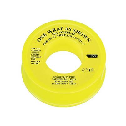Everbuild P.T.F.E Tape 13mm x 5m - Gas