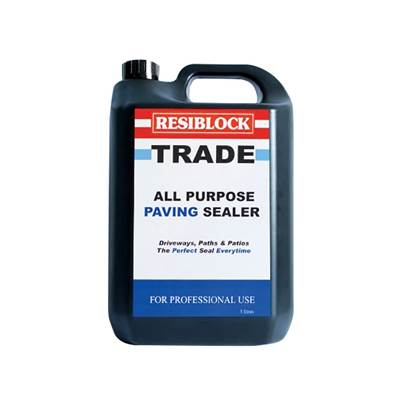 Everbuild Resiblock All Purpose Paving Sealer 5 Litre (Trade)