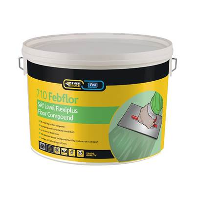 Everbuild Self Level Flexiplus 10kg Tub