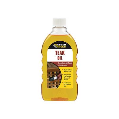 Everbuild Teak Oil 500ml