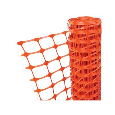 Faithfull Orange Barrier Fencing 1m x 50m