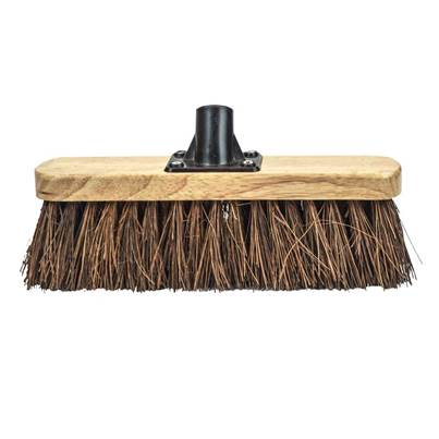 Faithfull Broom Head Bassine Varnished 300mm (12in) Threaded Socket