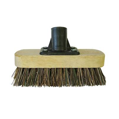 Faithfull Deck Scrub Broom Head 175mm (7in) Threaded Socket