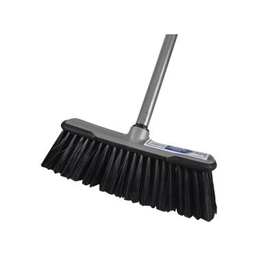 Faithfull Soft Broom with Screw On Handle