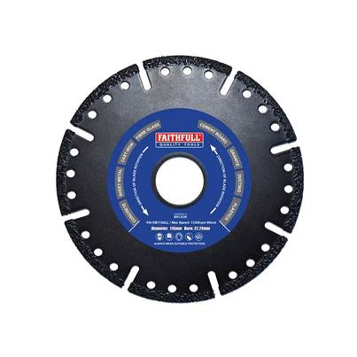 Faithfull Specialist Allcut Diamond Blade 115 x 22mm