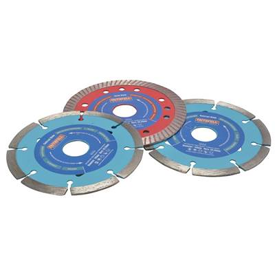 Faithfull Diamond Blade Set of 3 - Mixed 115mm