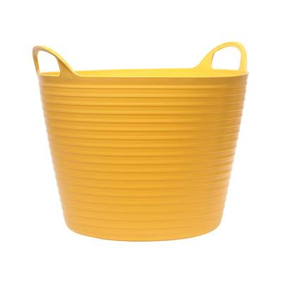 Faithfull Heavy-Duty Polyethylene Flex Tubs