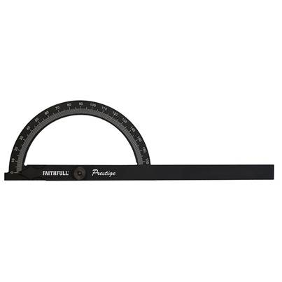 Faithfull Prestige Angle Gauge Black Aluminium 150 x 270mm