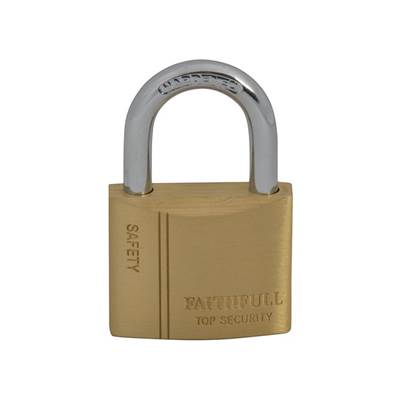 Faithfull Brass Padlocks