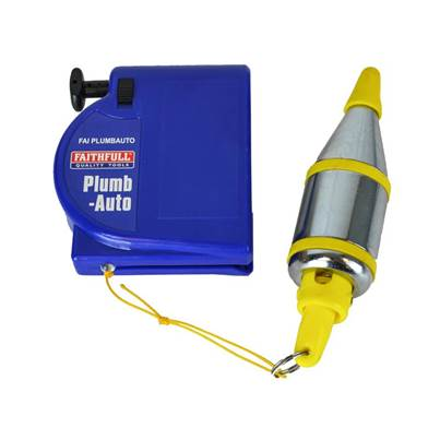 Faithfull Plumb-Auto Automatic Plumbline 400g (14oz)