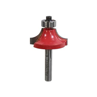 Faithfull Router Bit TCT Rounding Over 1/4in Shank 15.8mm x 9.5mm