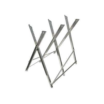 Faithfull Sawhorse Folding Trestle Galvanised