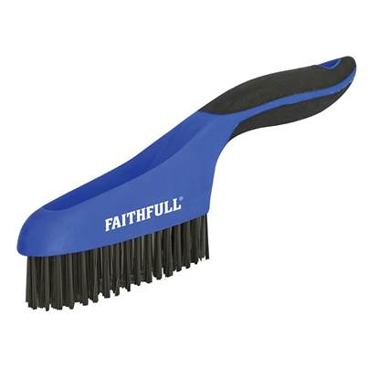 Faithfull Scratch Brushes Soft Grip
