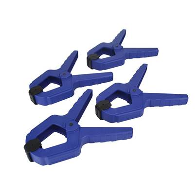 Faithfull Spring Clamps, 4 Piece