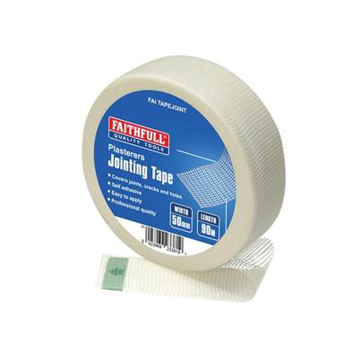 Faithfull PT1-50 Plasterers Joint Tape 50mm x 90m